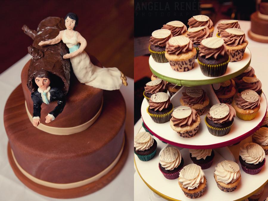 Angela Renee Photography, Bleeding Heart Bakery Cupcakes, Chicago Wedding