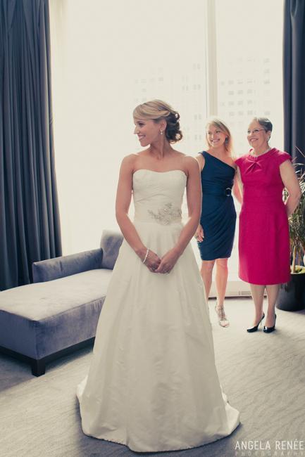Trump International Tower Wedding, Chicago, Angela Renee Photography