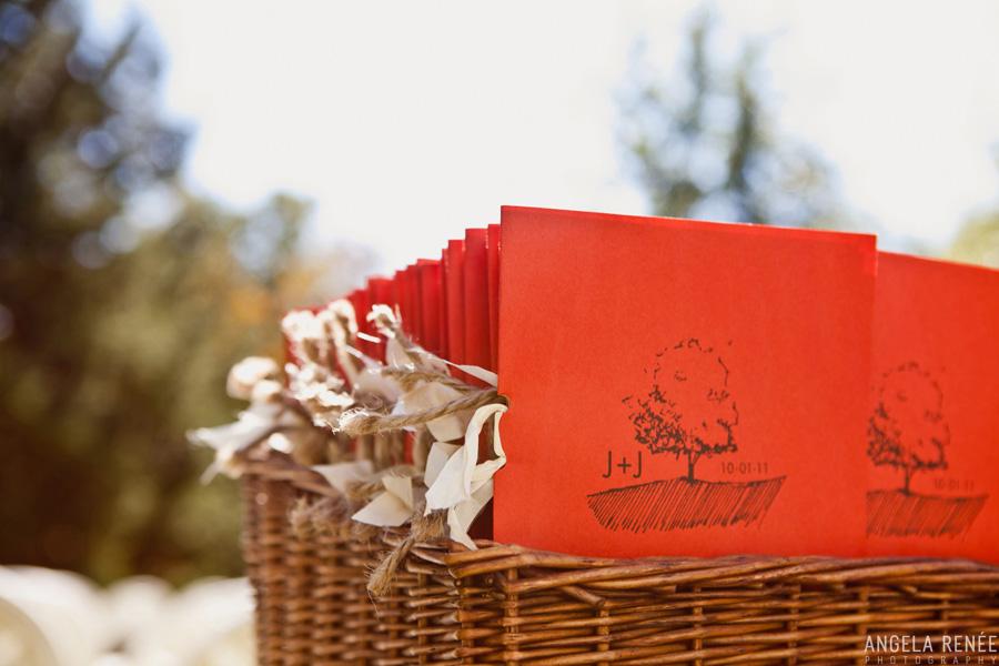 wedding programs paper source