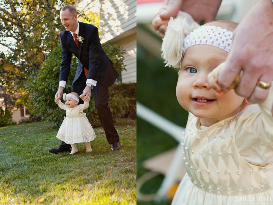 home wedding Crystal Lake Illinois