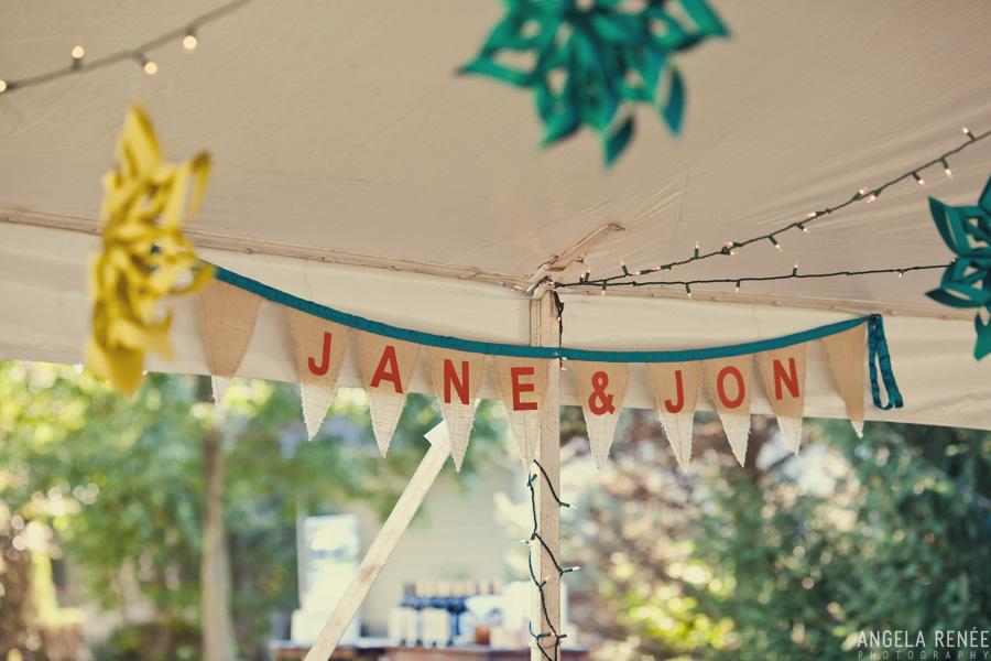 tent wedding reception illinois