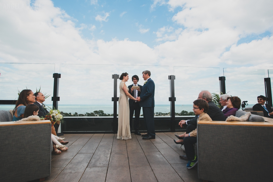 hotel lincoln rooftop wedding