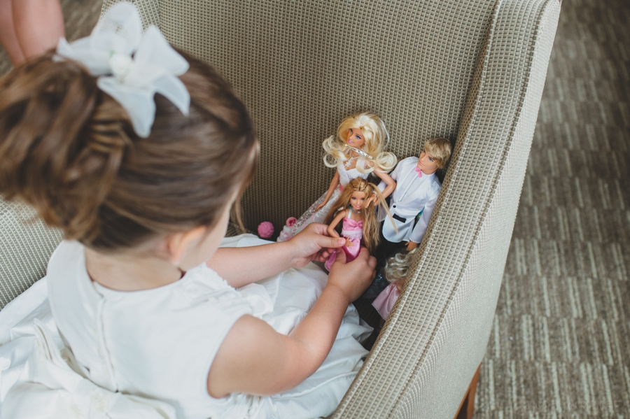 CafeBrauerSummerWeddingAngelaReneePhotography, Barbie Dolls, Flower Girl, Adorable