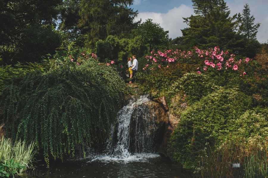 Chicago Botanic Gardens Engagement Session