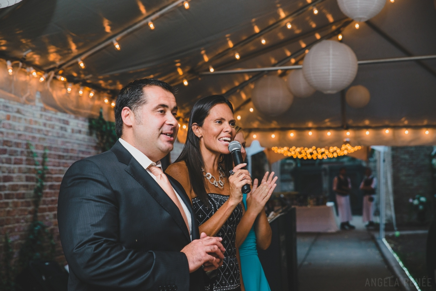 Glessner House tent reception