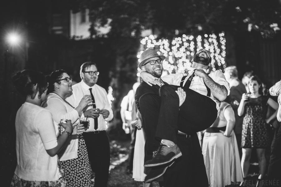 Honky Tonk BBQ Intimate Wedding 048