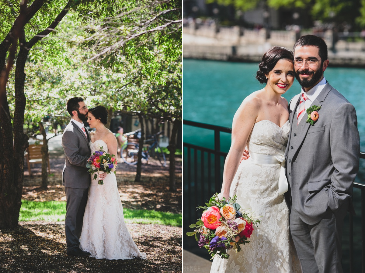 riverwalk wedding photos