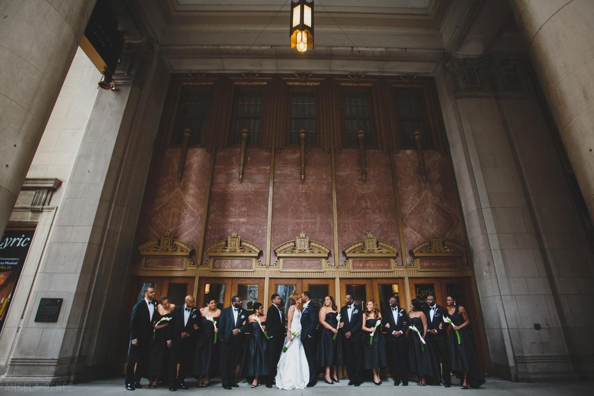 bridal-party-lyric-opera-house