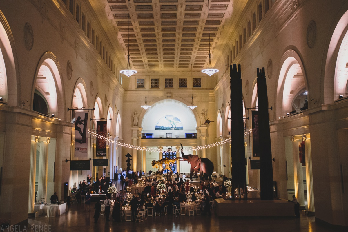 Reception Venue The Field Museum Wedding Day Coordination Tracy Fisher Events Fl Design Kehoe Designs Catering To Table
