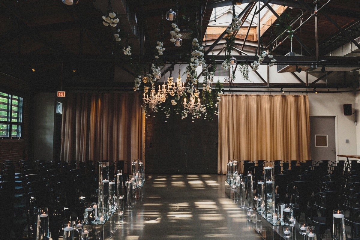 ovation wedding ceremony space
