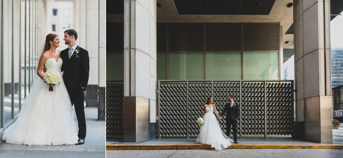 creative wedding day photography