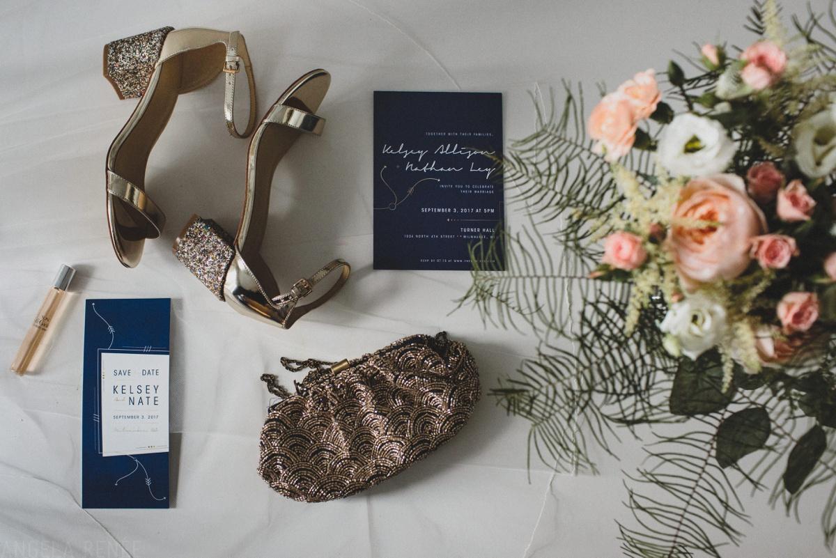 brides wedding details