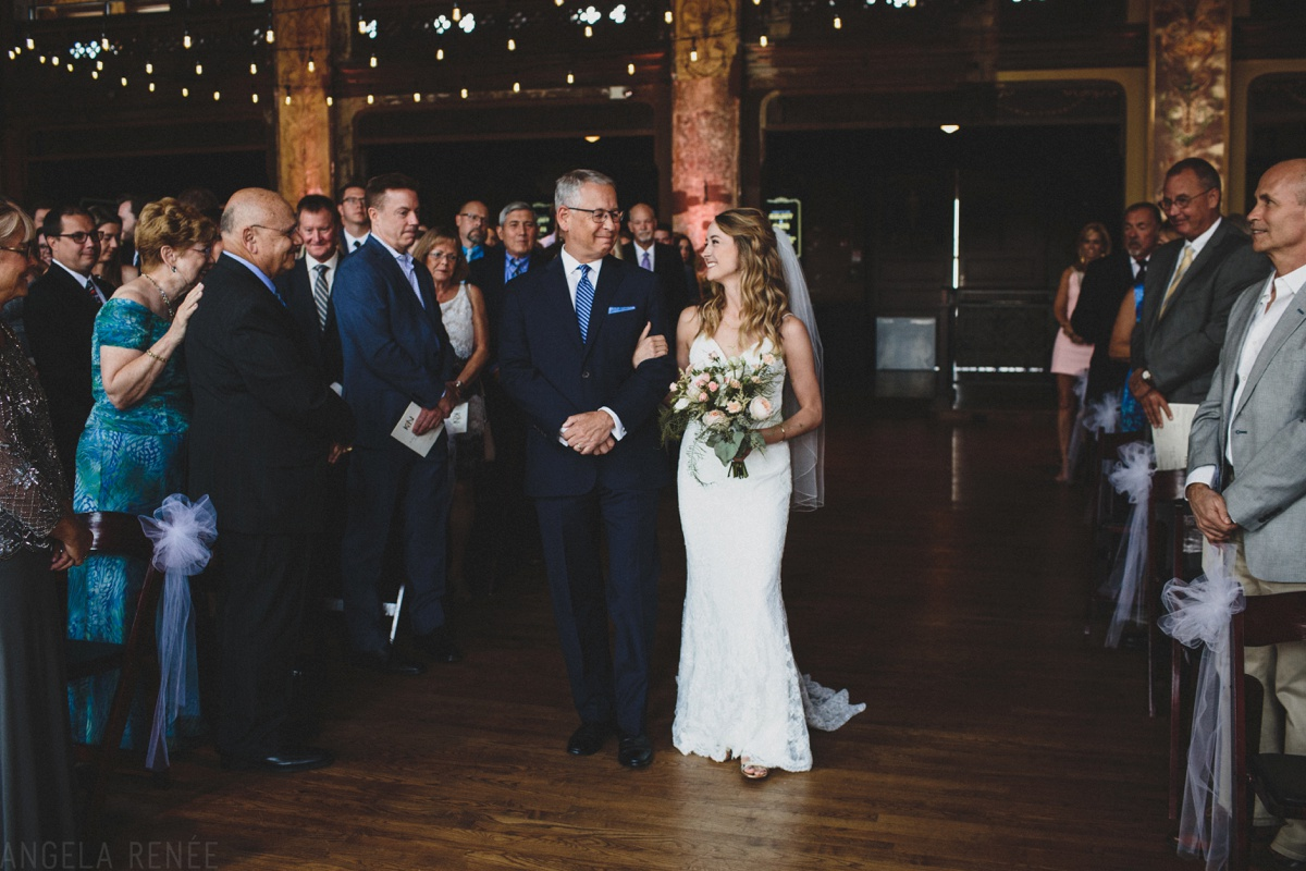 turner hall ballroom wedding ceremony