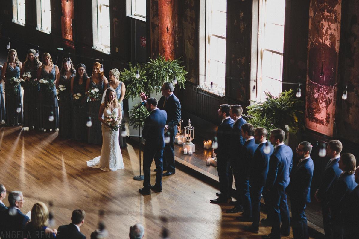 wedding ceremony turner hall ballroom