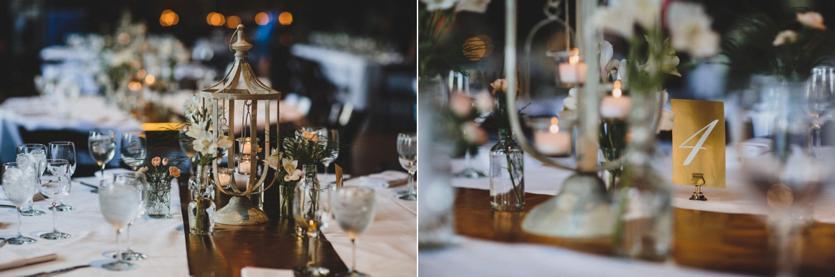 turner hall ballroom wedding reception details