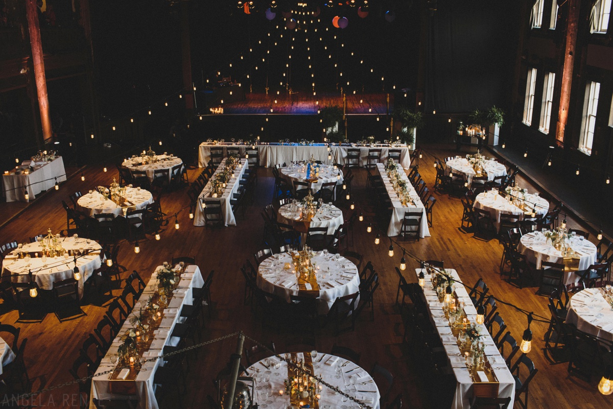 turner hall ballroom wedding reception