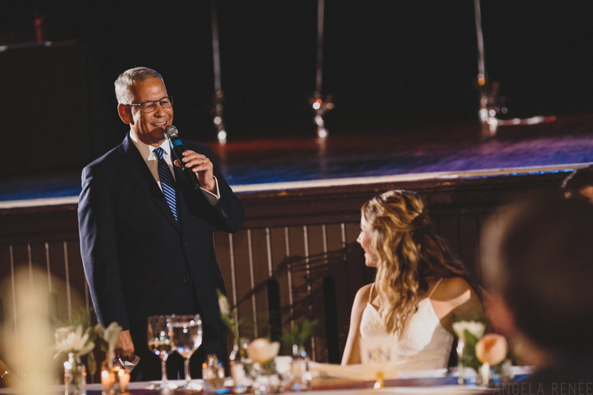 wedding speeches turner hall ballroom wedding