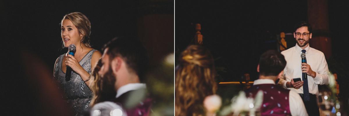 turner hall ballroom wedding speeches