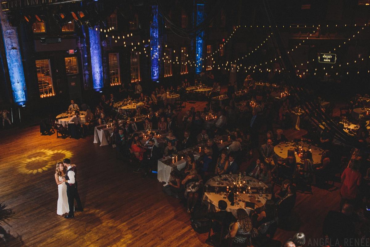 turner hall wedding first dance