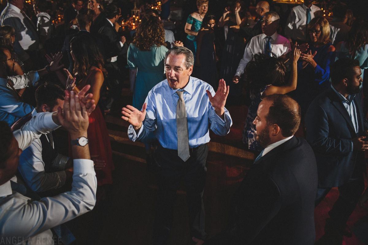 turner hall ballroom wedding dancing