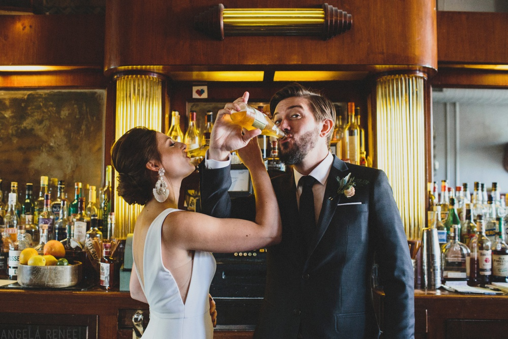 bride-groom-have-drink